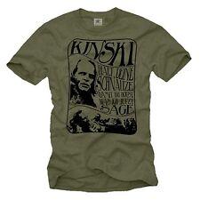 Lustiges Sprüche Herren T-Shirt mit klaus Kinski - Fun Männer Cult Film Shirt