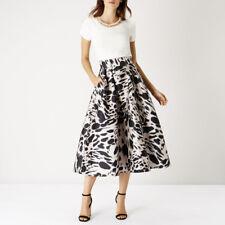 COAST Meslita Animal Print Skirt