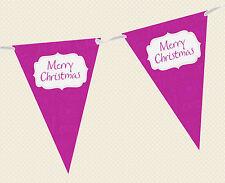 Noël texte BRUANT / Guirlande de fête/MAISON Décoration - choix de couleurs