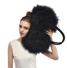 2018 new luxury winter warm lamb fur/mongolian fur beach fur bag handbag