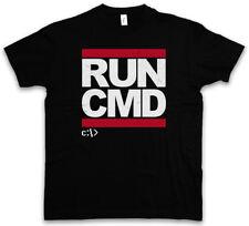 RUN CMD T-SHIRT DMC Hacker Computer Informatiker Nerd Mr. Robot Informatik Geek