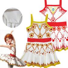 Kids Girls Angel Loves Princess Swimsuit Swimming Ballet Skirt Swimwear Dress