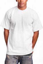 Plain T-Shirts Men's Pro 5 Short Sleeve Round Neck - 3 Pack