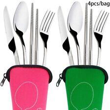 Tool Camping Cutlery Tools Stainless Steel Tableware Fork Spoon Chopsticks
