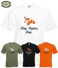 T Shirt, FLIEG VÖGLEIN, für KTM, Yamaha, Enduro, Dirt, Motocross, Offroad Fans