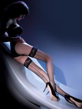 Bas sexy résille couture noir autofixant Gabriella calze 155 femme T1 T2 T3 T4