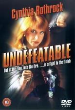 Undefeatable DVD Cynthia Rothrock Don Niam Godfrey Ho UK Release New Sealed R2