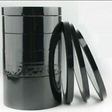 Nastro adesivo nero siliconico mascheratura in poliestere per alte temperature