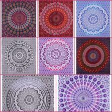 Twin Size Indian Tapestry Bedspread Hippie Mandala Wall Hanging Bohemian Decor