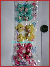 pink white rabbit green umbrella Scrunchie hair tie girl Balls Ponytail Holder