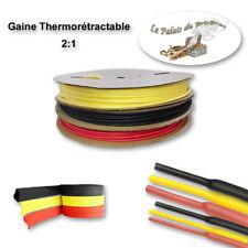 Gaine thermorétractable 2:1 (sans colle) -  Ø 1MM à 13MM de 0,5m à 10m