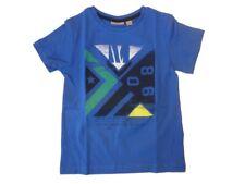 Mexx Jóvenes Níños Camiseta Azul Medio con Impresión Frontal Talla S (98/104)