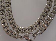 Bella argento collana maglia grumetta argento 925 Collana argento collier