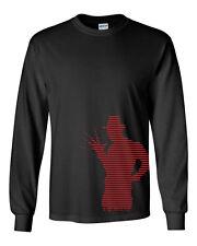 260 Freddy Body Long Sleeve Shirt krueger horror elm street nightmare halloween