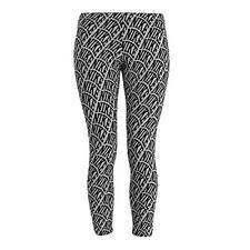 Womens Nike Club AOP All Over Print Gym Sports Crop Cropped Leggings Light Grey