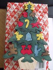3D 18 pz Natale Xmas Tree Puzzle giocattolo legno