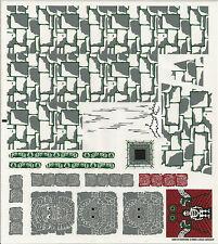 LEGO 7627 - Indiana Jones - Temple of the Crystal Skull - STICKER SHEET