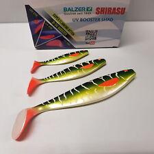 Balzer UV Booster Shad Pike 10cm 13cm 17cm Gummifisch Zander Hecht Köder