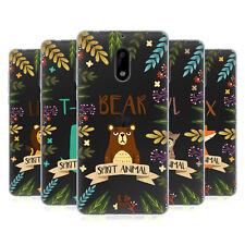 HEAD CASE DESIGNS SPIRIT ANIMAL ILLUSTRATIONS SOFT GEL CASE FOR NOKIA PHONES 1