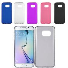 Soft TPU Gel Skin Cover Slim Shockproof Case for Samsung Galaxy S7 / S7 Edge