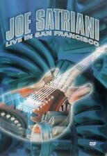 Joe Satriani - Live In San Francisco (DVD 2-Disc Set) NEW AND SEALED