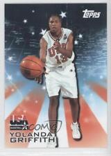 2000-01 Topps Team USA #19 Yolanda Griffith (Olympics Women) Basketball Card