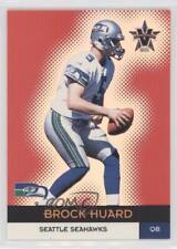 2000 Pacific Vanguard Premier Date 56 Brock Huard Seattle Seahawks Football Card