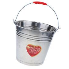 Large Heavy Duty Stainless Steel Water/Milk/Ice Bucket Pail 12L/16L/20L