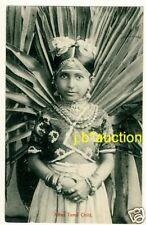 Ceylon JAFFNA TAMIL CHILD * Vintage 1920s Ethnic PC