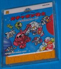 Gundam World Gachapon Senshi Scramble Wars Famicom Disk