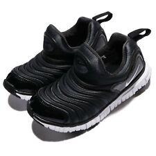 Nike Dynamo Free PS Black White Preschool Boys Running Shoes Sneakers 343738-013