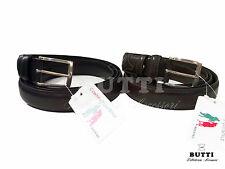 Cintura uomo in pelle cm 3  accorciabile extramisura art C333 o art. 146/30