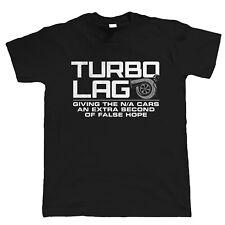 Coche de Turbo lag Para Hombre Divertido Camiseta-Regalo Para él papá Drag Racing deriva Motorsport