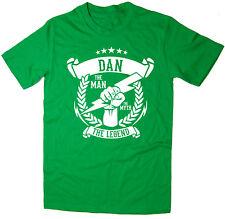 Dan - The Man, The Myth, The Legend T-Shirt - Christmas gift idea - 6 colours