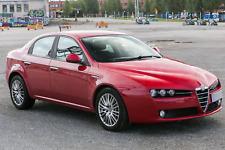 ALFA ROMEO 159 4 portes Berline 2005-2011 Deflecteurs de vent 4pcs HEKO Bulles