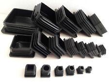 Quadrat Vierkantrohr Stopfen 10 bis 100mm Rohrkappen Rohrstopfen