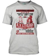 Guns n Roses inspired Slash v Axl fight poster, Men's T-Shirt