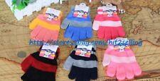 3 Soft Winter Boys Girls Children Gloves Set Knit Mitten USA Seller Smartphone