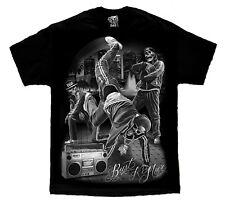 David Gonzalez Art DGA Bust A Move Break Dancing Hip Hop Boombox T Shirt