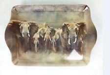 Paese questioni Safari Snack Ciondolo Vassoio-Karen Lawrence Rowe OPERA D'ARTE