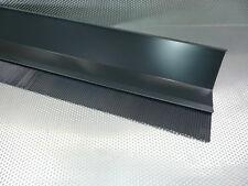 2,00 m Wandanschluss/Brustblech aus. Aluminium, in Farbe Anthrazit