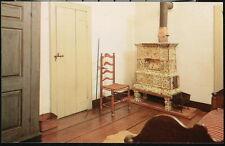 WINSTON SALEM NC Old Salem Matthew Miksch House Upstairs Bedroom Vtg Postcard