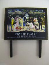 BR Harrogate - Model Railway Billboard - N & OO Gauge