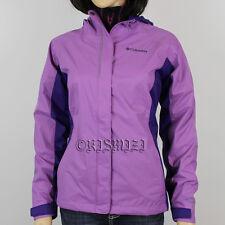"New Girls Columbia ""Arcadia"" Omni-Tech Rain Wind Jacket 360° Reflective"