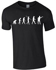Dart Evolution Dartpfeil Dartscheibe darten Dart WM T-Shirt Shirt T-Shirt m177