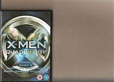 X MEN QUADRILOGY DVD 1 2 3 WOLVERINE ORIGINS 4 FILMS