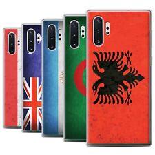eSwish Gel/TPU Phone Case for Samsung Galaxy Note 10+/Plus/5G /Flags