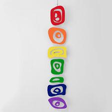 Rainbow Retro-A-GoGo Mobile - Show Your LGBTQ Pride in Fun Hip MOD Style!