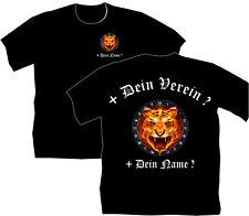 Dartshirt Dart T Shirt Hemden Bekleidung Dartclub Tigers Tiger Motiv Katze 56