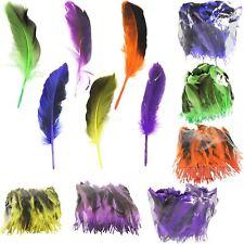 Decoración Craft Surtidos De Varios Colores En Plumas ~ Pascua Hat Sombrero tarjeta